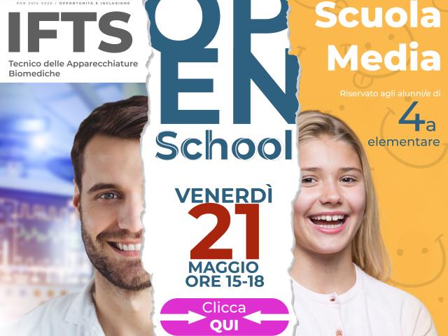 Opens School 27.05 con CLICCA QUI PopUp sito